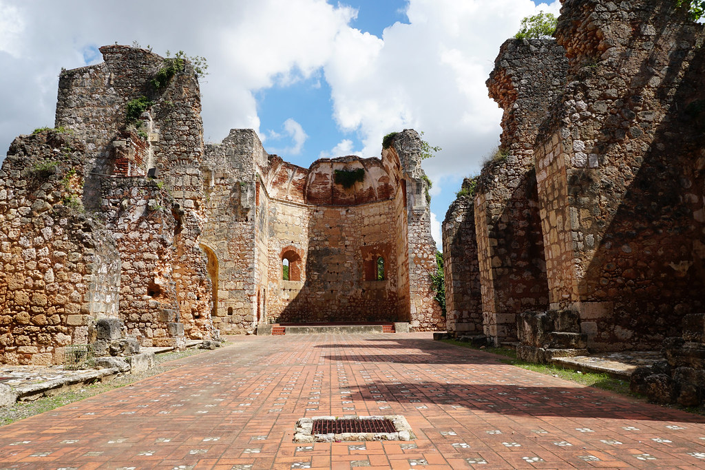 Ruinas Monasterio de San Francisco, Ciudad Colonial de Santo Domingo, República Dominicana.