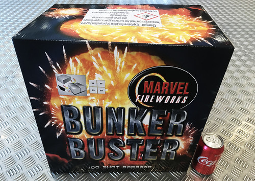 BUNKER BUSTER 100 SHOT COMPOUND BARRAGE #EpicFireworks