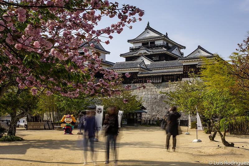 Castillo de Matsuyama, en Shikoku