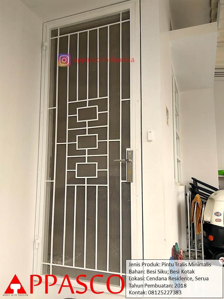 Pintu Teralis Minimalis Di Cendana Residence Serua Flickr