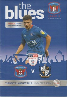 Carlisle United V Port Vale 21-8-18 | by cumbriangroundhopper