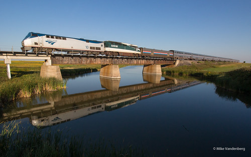 Amtrak with a Friend | by Mike Vandenberg