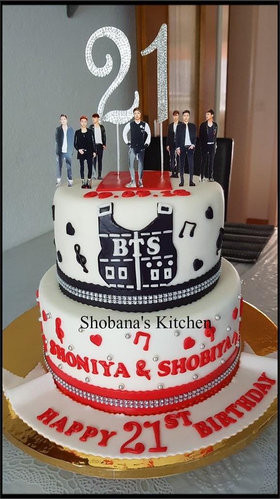 Bts Birthday Cake 21st Birthday Cake Shobana