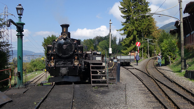 Museumsbahn Bloney Chamby Switzerland