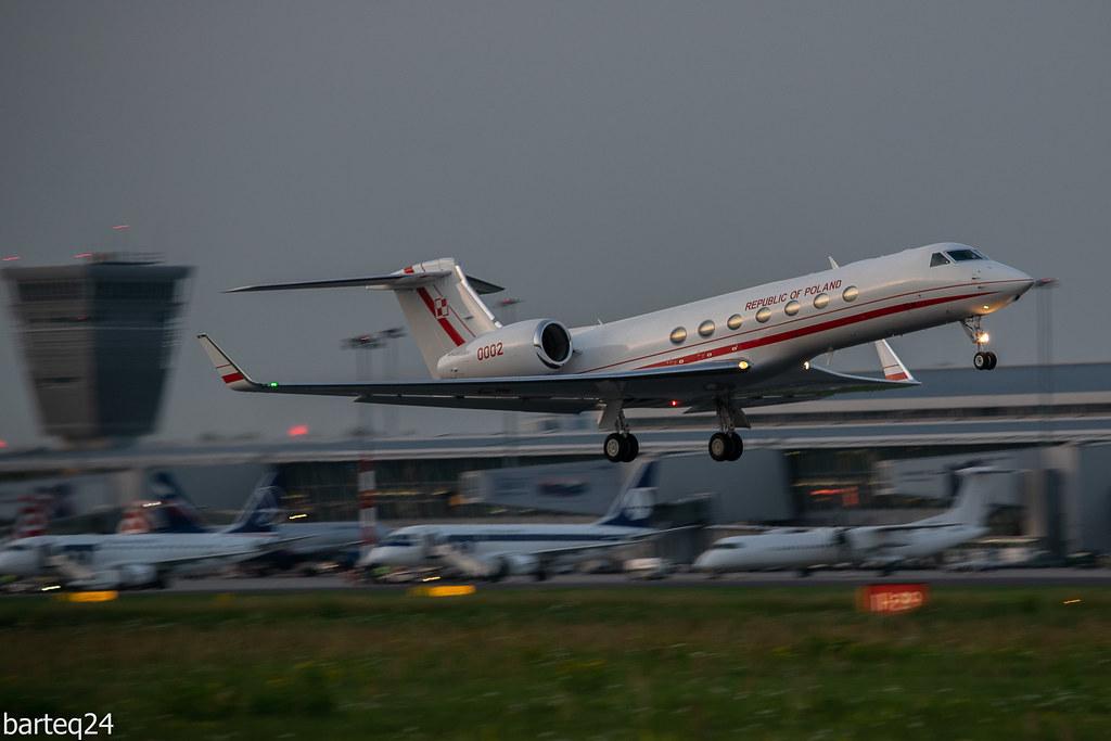 0002 Gulfstream G550 | Polish Air Force