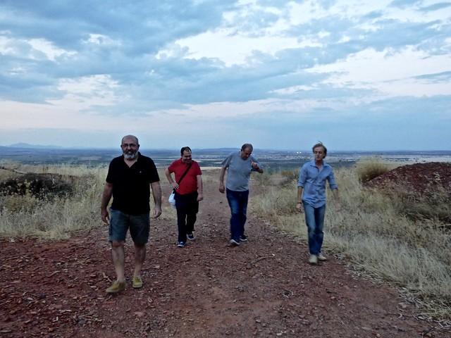 Visita a la mina de Tierrablanca.