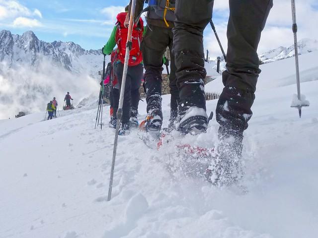 Encantats Pyreneeën, sneeuwschoen huttentocht