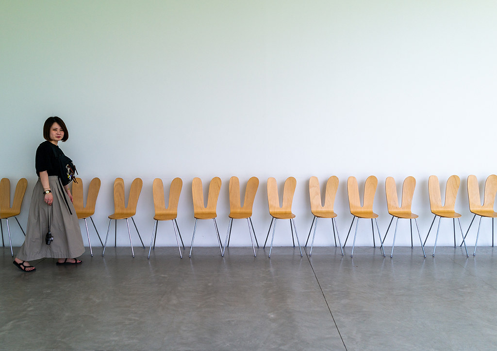 Remarkable Chairs Inside The 21St Century Museum Of Contemporary Art Machost Co Dining Chair Design Ideas Machostcouk