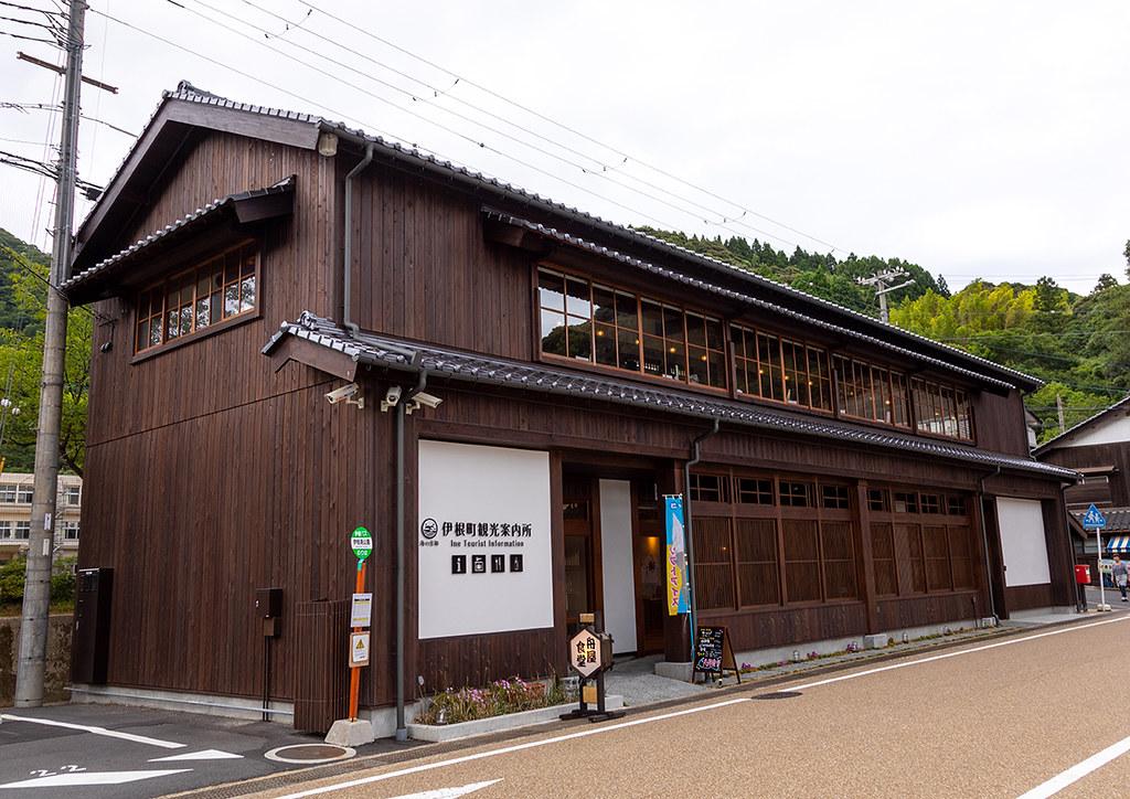 Ine Tourist Information Wooden House Kyoto Prefecture In Flickr