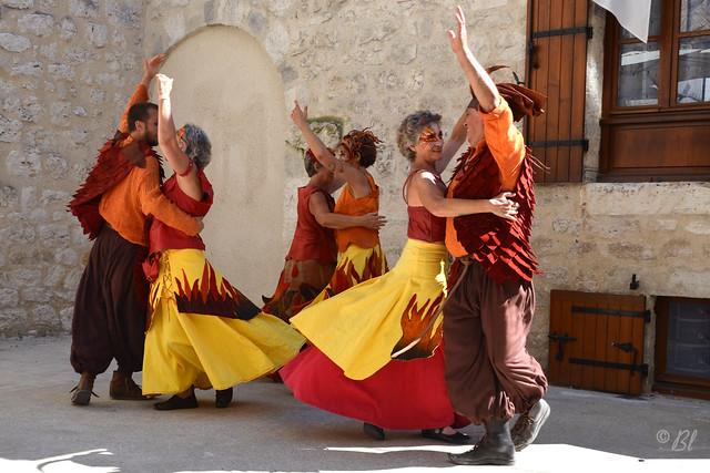 Les couleurs dans la danse