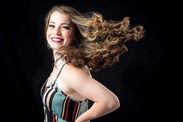 Tori...hair flip