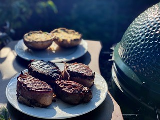 Filets on the Big Green Egg