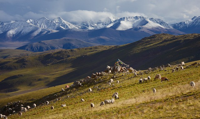 Nyenchen Tanglha Mt Range, Tibet 2017
