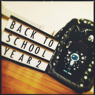 back to school bag | by My Two Mums