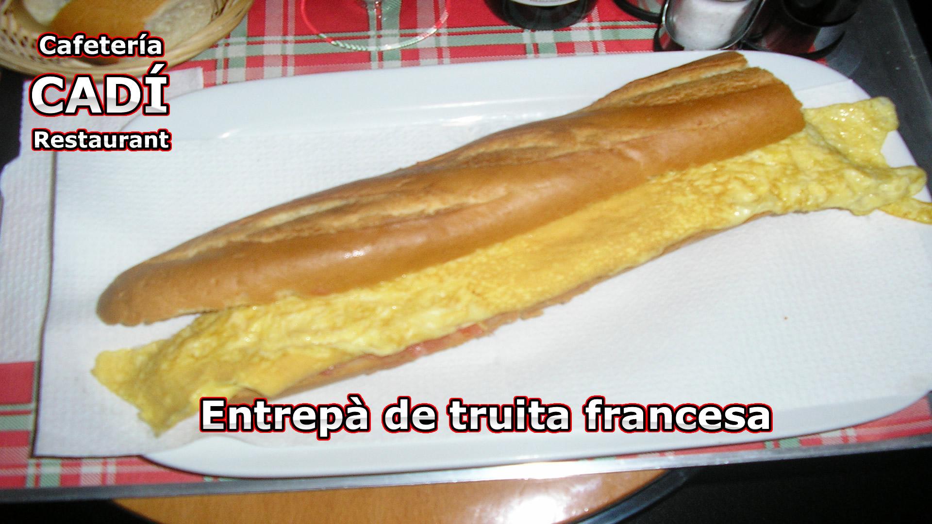 Bocadillo de Tortilla Francesa