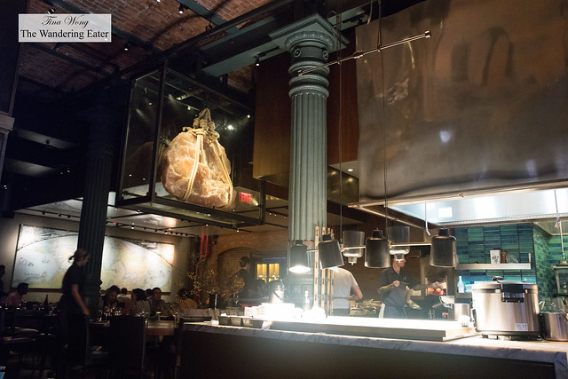 Interior of Chefs Club