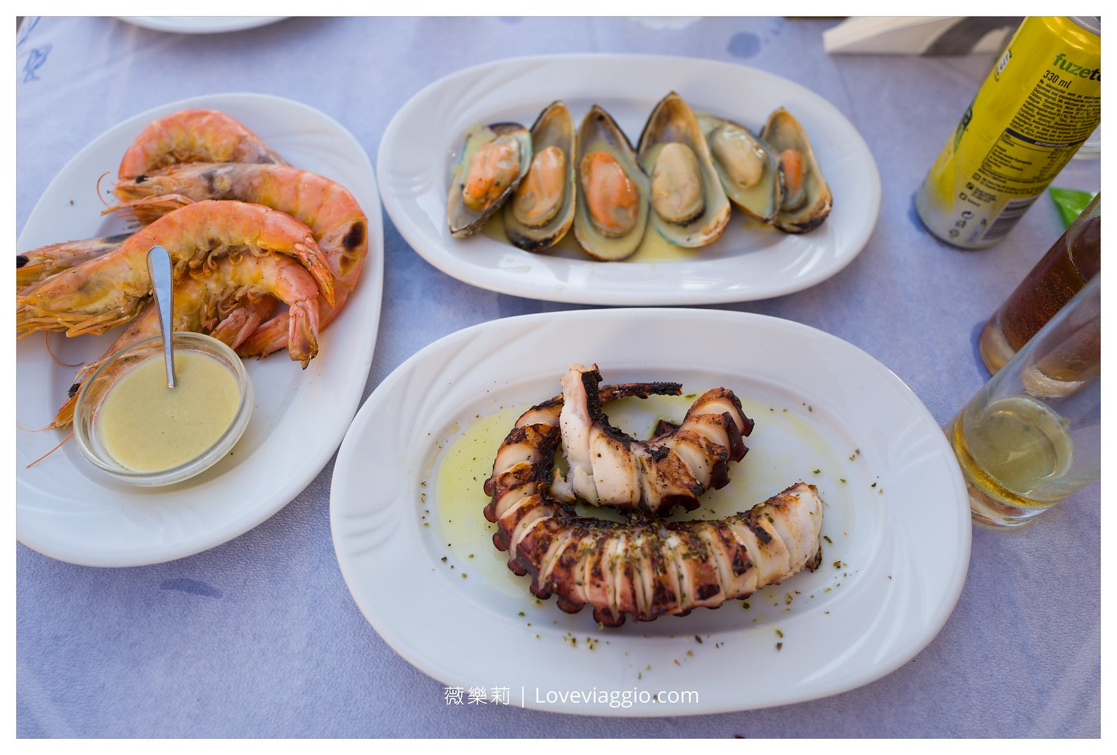 【希臘聖托里尼 Santorini】Taverna Katina 伊亞推薦海鮮餐廳 Ammoudi港口 @薇樂莉 Love Viaggio | 旅行.生活.攝影