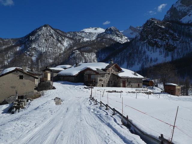 Valle Maira - Verborgen parel van Piemonte, sneeuwschoen huttentocht