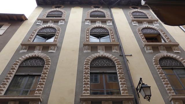 Briançon - Maison des Têtes - 13, Grande Rue
