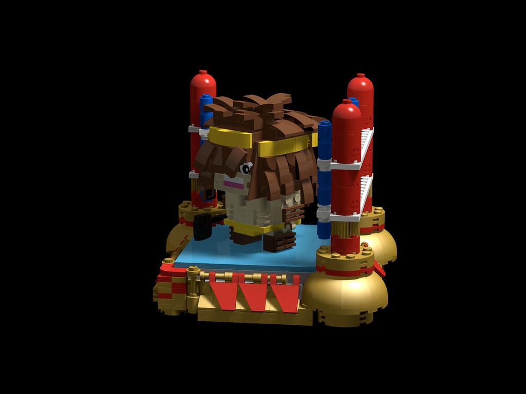 ジェロニモ Geronimo レゴ作品 ゆでたまご キン肉マン Brickheadz