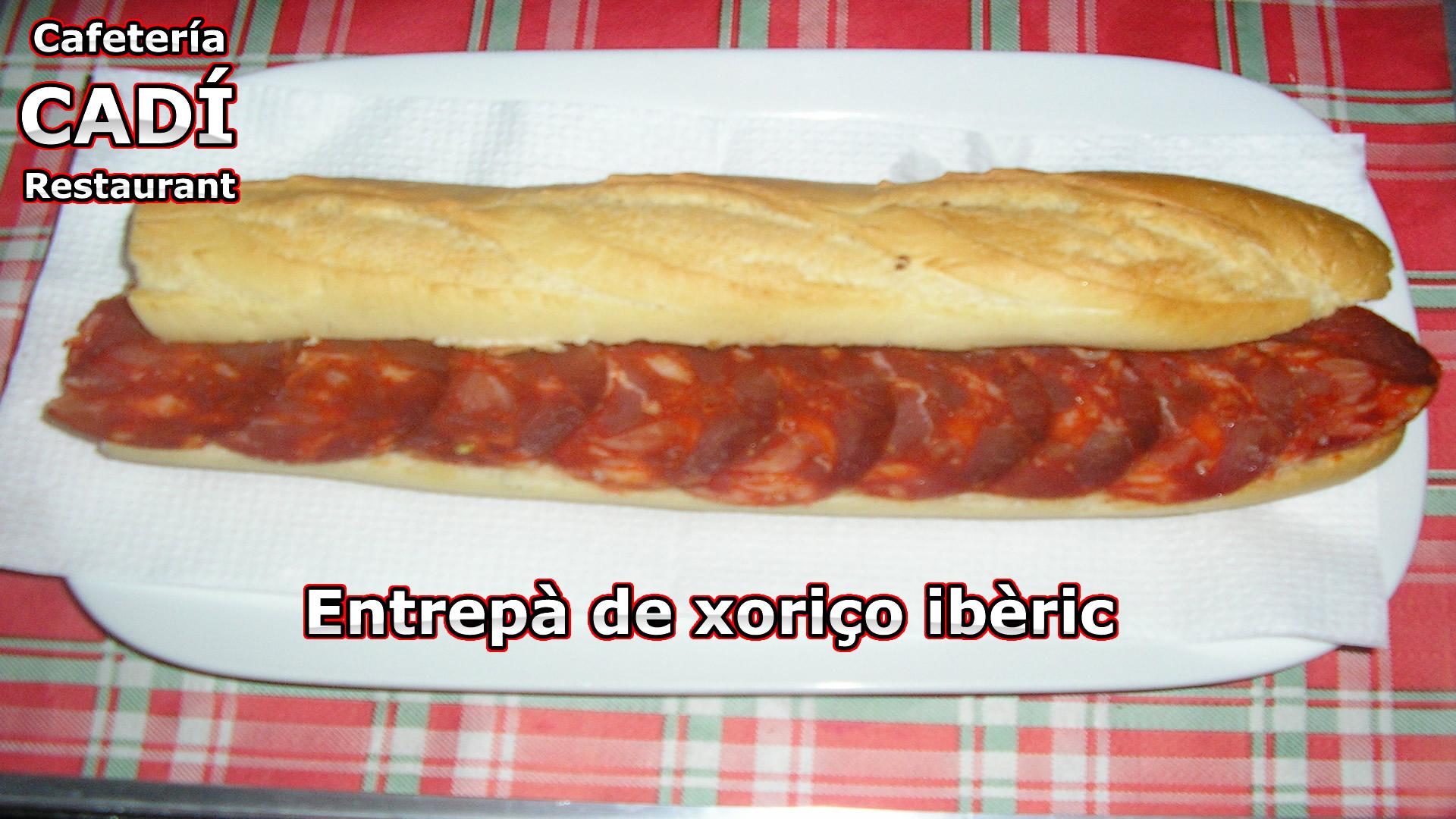 Bocadillo de Chorizo