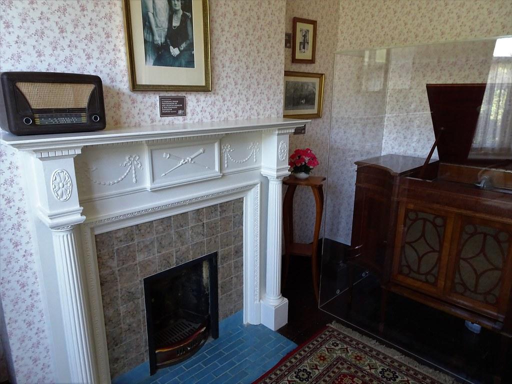 Bundaberg  Sitting room of Bert Hinkler House  Built 1925
