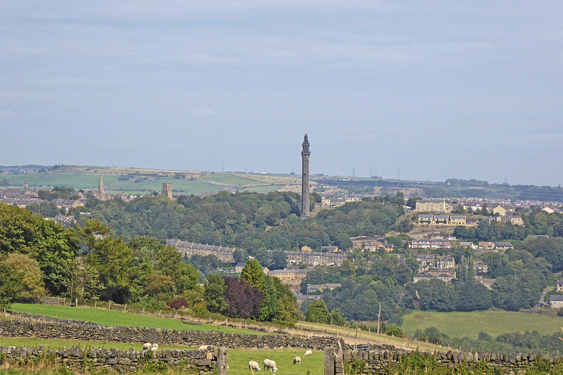 Wainhouse Tower from Norland
