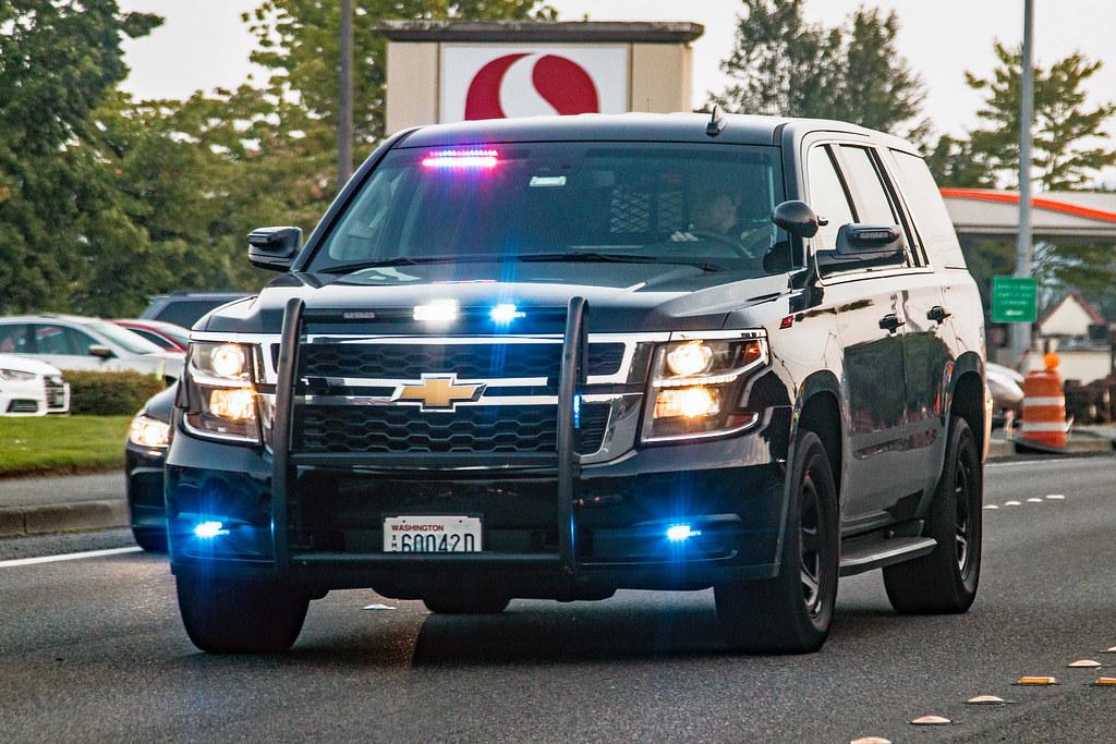Bothell Police Department Chevrolet Tahoe Ppv Andrew Kim