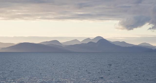 Last Light on the Hebridies