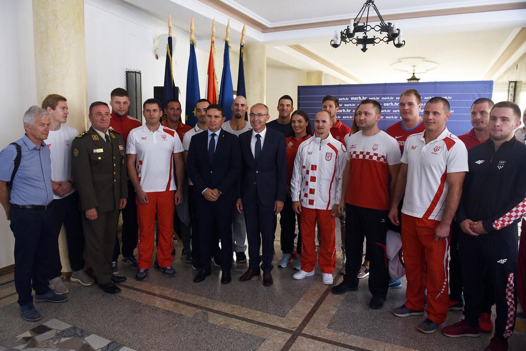 Vrhunski sportaši u Hrvatskoj vojsci