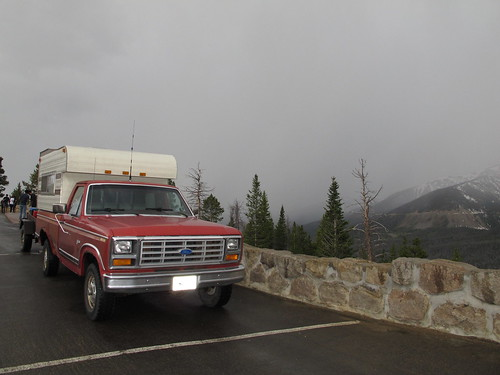 The tRusty truck parked along Trail Ridge Road, CO. | by WY0WDR