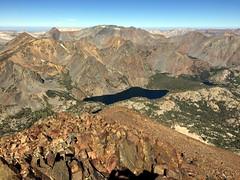 2018 8-25 - Virginia Lakes - Dunderberg Peak Climb - View North towards Matterhorn
