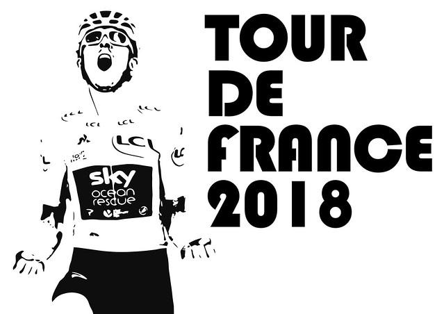 Geraint Thomas Tour de France 2018