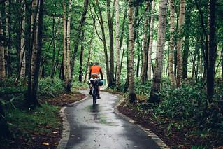 Trans-Hokkaido Bikepacking Route (beta) | Short section of cycling road near Niniu Campground | by Robert Thomson