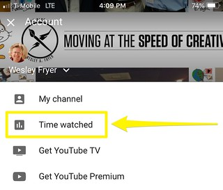 Time Watched I've Watched YouTube | by Wesley Fryer