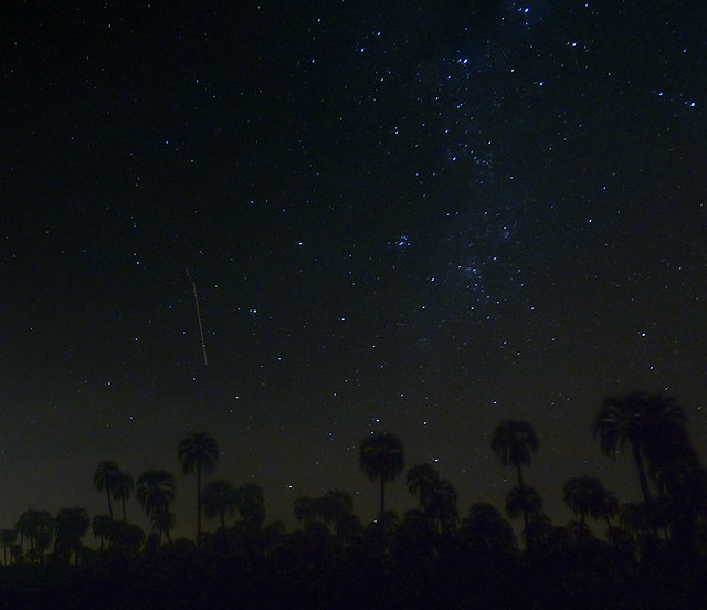 My first Milky Way (with Perseids)