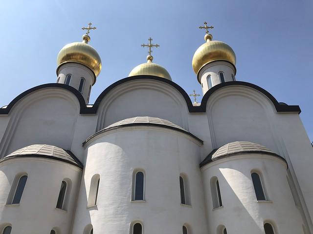 Catedral de Santa María Magdalena, templo de la ortodoxia rusa en Madrid