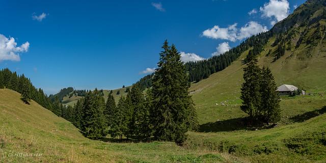 Panorama Untere Euschels (Switzerland)