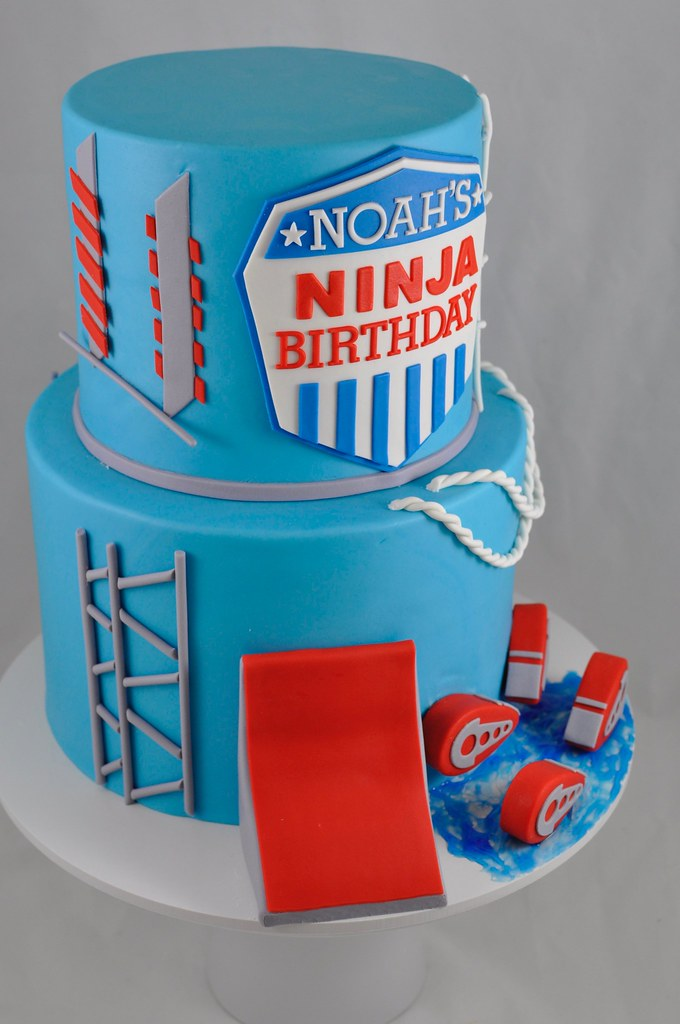 Ninja warrior themed cake | Jenny Wenny | Flickr