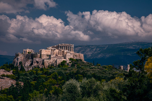 landscape acropolis clouds greece canon eos 5d mark iv ef24105mm f4l is ii usm ancient olive trees architecture marble mountain