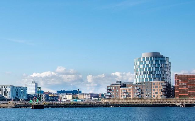 Part of Copenhagen Seafront