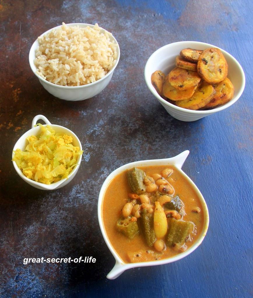 thatta payaru kulambu recipe - Karamani kulambu recipe - Kulambu , Kuzhambu Recipes - Full meal recipes - Lunch, Dinner recipes - Party recipes