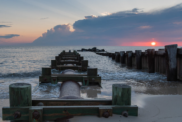 Sunset in Cape May, New Jersey