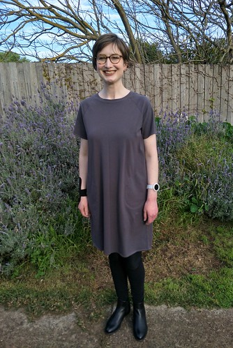 In the Folds Jersey Dress | by Chronically Siobhan