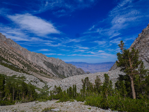 Owens Valley from the Shepherds Pass trail. I had cell service here so checked in with loved ones. | by snackronym