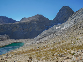 Junction Pass and Peak from JMT north of Forester | by snackronym