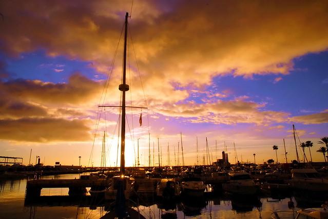 Puerto Duquesa harbour, Spain