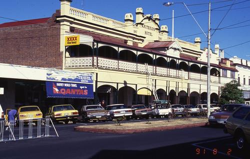 qsa queenslandstatearchives warwick hotel australia queensland