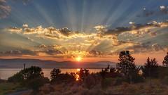 Sunrise off my Deck
