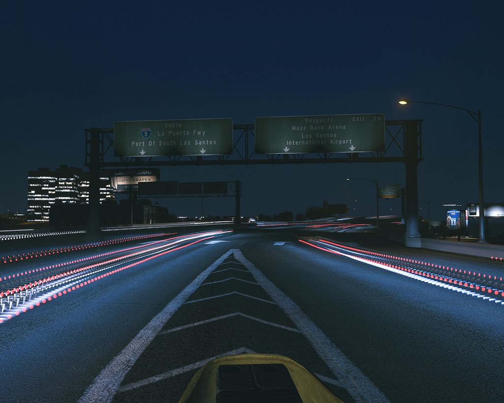 Long Exposure / GTA5 | •Grand Theft Auto 5 •NVR by Razed •Ex… | Flickr